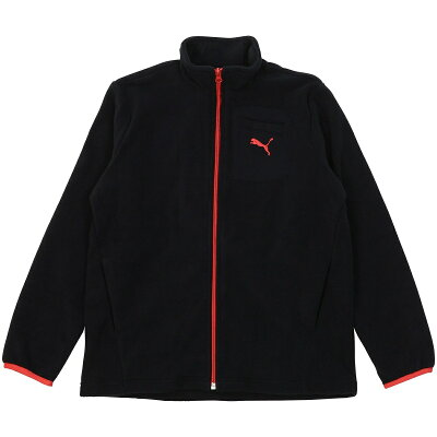 PUMA プーマ Fleece Jacket 130 Puma Black