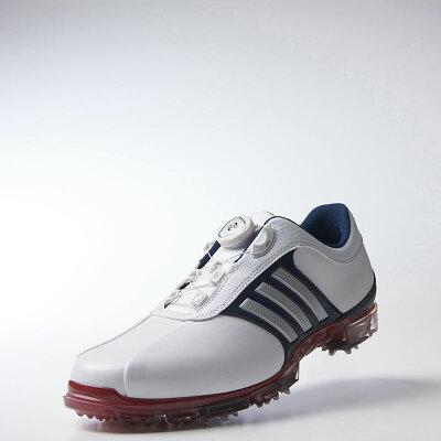 adidas  ピュアメタル ボア プラス (ゴルフ) Q44895  24.5cm