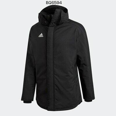 adidas メンズ CONDIVO18 スタジアムパーカー AJP-DJV53・BQ6594 ブラック×ホワイト
