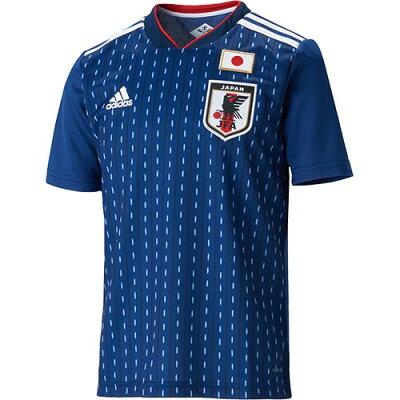 adidas  (キッズ/子供用) サッカー日本代表 ホームレプリカユニフォーム半袖(FIFAワールドカップTM モデル) BR3644  J130