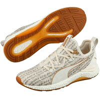 PUMA プーマ Hybrid Runner Desert 25 Whisper White-Metallic Bronze