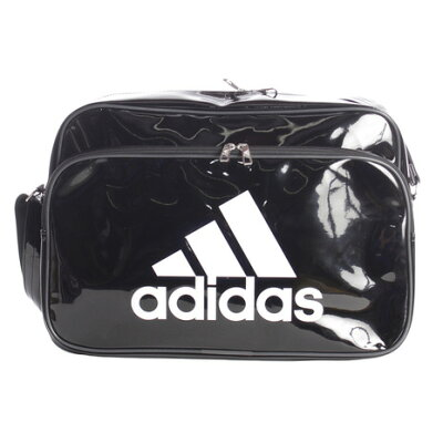 adidas エナメルバッグL 27LETX13CX4038ブラック/ホワイト