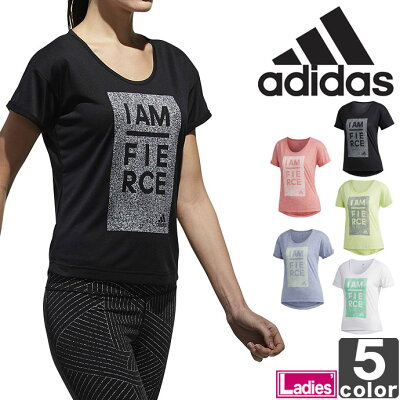 adidas アディダス W M4T メッセージプリントTシャツ CX3617  L