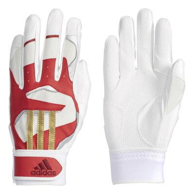 アディダス 野球手袋グローブ 5T バッティンググラブ 両手用 ETY50-CX2048