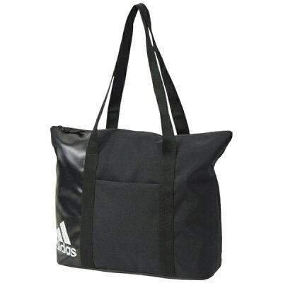 アディダス adidas レディース エッセンシャル トートバッグ ブラック/ホワイト/ホワイト FSV70 DT4059