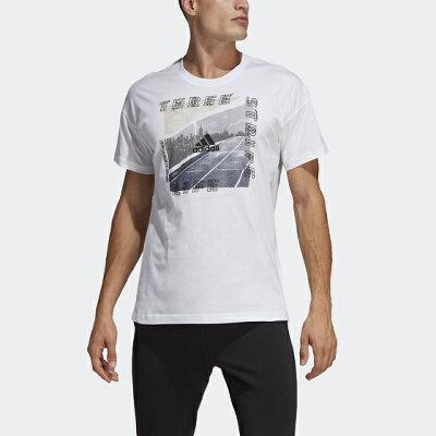 adidas  M ID フォトグラフィック Tシャツ DV3055  S