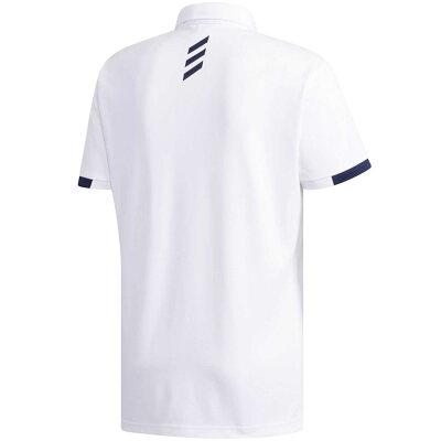 adidas アディダス adicross エンブレム 半袖ボタンダウンシャツ (ゴルフ) DW6245  M