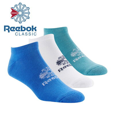 Reebok リーボック CL 3P ソックス DU7455  1416