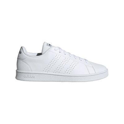 アディダス adidas メンズ レディース スニーカー アドヴァンコート ベース ADVANCOURT BASE ホワイト/ホワイト/トレースブルー EOT69 EE7691