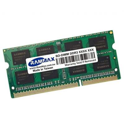 RAMMAX ノートPC用メモリ 8GB PC3-8500(DDR3 1066) RM-SD1066-8GB