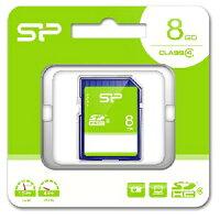 SP-SDHC8GB4 シリコンパワー SDHCメモリカード 8GB Class4 SPSDHC8GB4