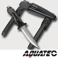 ダイビングナイフ AQUATECH/アクアテック タイガーナイフ ステンレススチール 803760010000