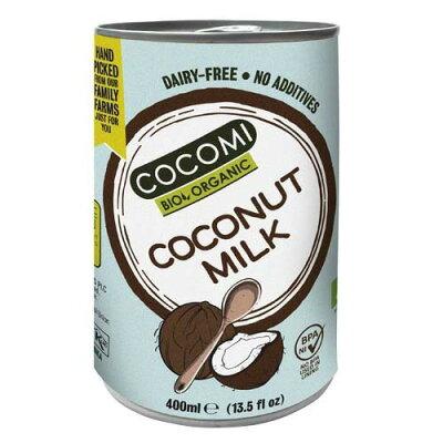 ココミ オーガニック ココナッツミルク(無添加)(400ml)