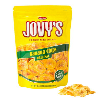 ジョビーズ バナナチップス オリジナルミニ 100g