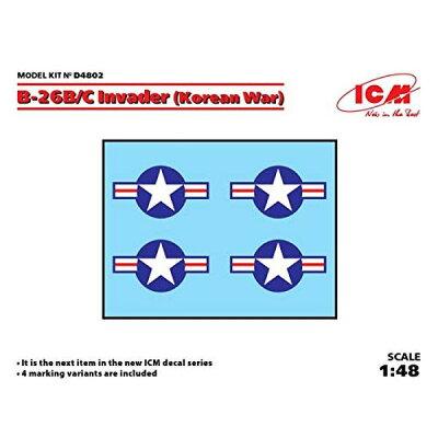1/48 B-26B/C インベーダー用デカール コリアンウォー ICM