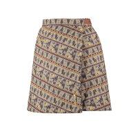 ラフマ LD REVERSIBLE 2 WRAP SKIRT リバーシブル 2 ラップスカート BEIGE GRES Mサイズ