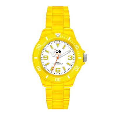 アイスウォッチ ICE-WATCH 腕時計 レディース ICE neon アイスネオンコレクション ミディアム ネオンイエロー 0136152017