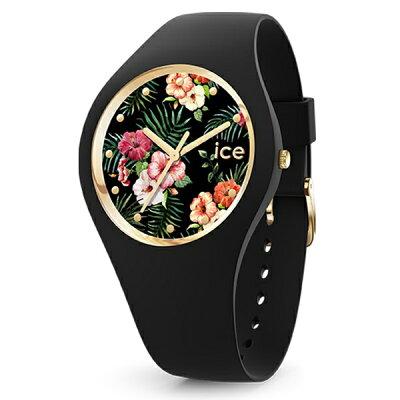 アイスウォッチ アイスフラワー ミディアム 40mm レディース 腕時計 016671 ICE WATCH コロニアル ブラック