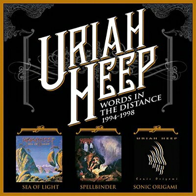 Uriah Heep ユーライアヒープ / Words In The Distance 1994-1998 輸入盤