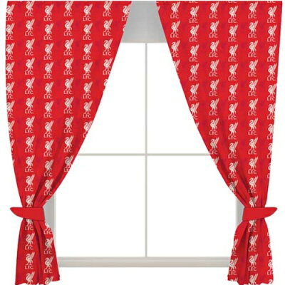 Liverpool F.C. Curtains  リヴァプールFCカーテン