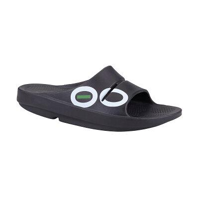 ウーフォス OOFOS ユニセックス OOriginal Sport 03 Black/Aqua
