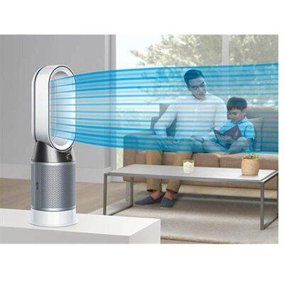 dyson Pure Hot+Cool 空気清浄ファンヒーター HP 04 WS N