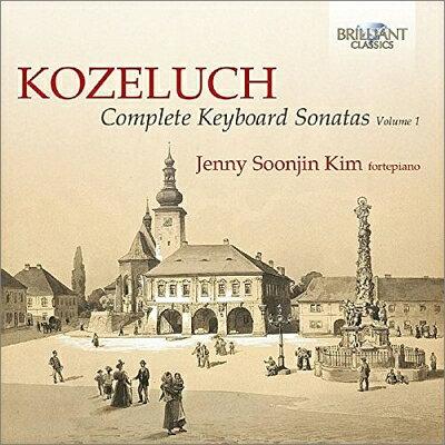 コジェルフ 1747-1818 / 鍵盤楽器のためのソナタ集第1集 キム・ジェニー・ソジン フォルテピアノ 2CD 輸入盤