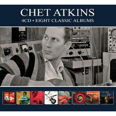 Chet Atkins チェットアトキンス / Eight Classic Albums 輸入盤