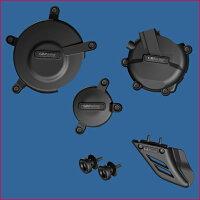 GBRacing ジービーレーシング ガード・スライダー クラッシュプロテクションフルセット GSX-R600 750 K6-L4 06-15