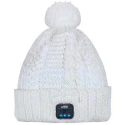 August EPA30 Bluetooth帽子 音楽ニット帽子 ビーニー帽子