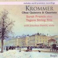 クロンマー 1759-1831 / Oboe Quintet, Quartet: S.francis Ob Tagore String Trio Barritt Va 輸入盤