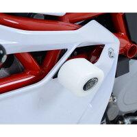 R&G アールアンドジー ガード・スライダー クラッシュガード・プロテクター - エアロ Aero スタイル カラー:ホワイト