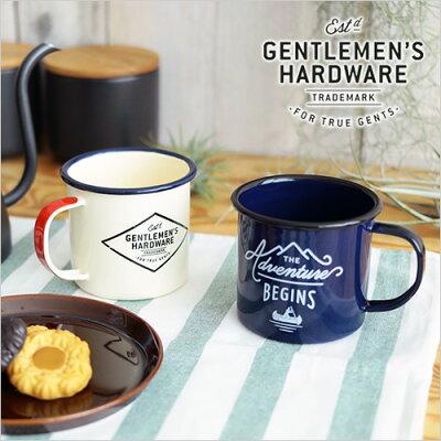ジェントルマン ハードウェア エナメル マグ / GENTLEMEN'S HARDWARE Enamel Mug