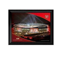 Arsenal アーセナル ナイト エミレーツスタジアム フレームピクチャー / ポスター カレンダー 写真