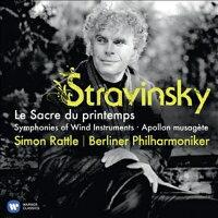 Stravinsky ストラビンスキー / 春の祭典 ラトル&ベルリン・フィル 2012 輸入盤