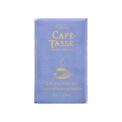 カフェタッセ 塩キャラメルミルクチョコ 85g