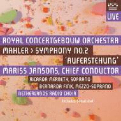 Mahler マーラー / 交響曲第2番 復活 ヤンソンス&コンセルトへボウ管弦楽団、フィンク、メルベート 2SACD+DVD 輸入盤