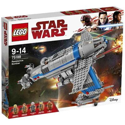 レゴジャパン LEGO レゴ 75188 スター・ウォーズ レジスタンス・ボマー