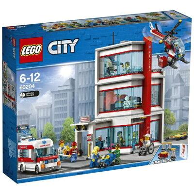 レゴジャパン LEGO レゴ 60204 シティ R シティ病院