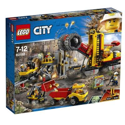 レゴジャパン LEGO レゴ 60188 シティ ゴールドハント 採掘場
