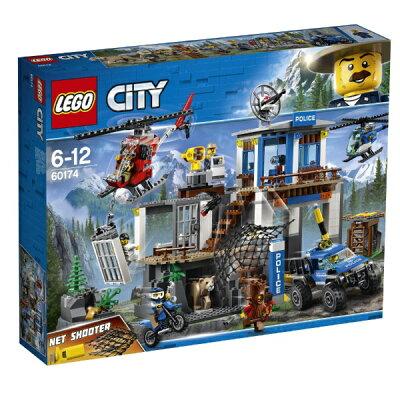 レゴ シティ 山のポリス指令基地(1セット)