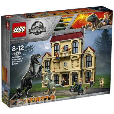 レゴジャパン LEGO レゴ 75930 ジュラシック・ワールド インドラプトル、ロックウッド邸で大暴れ