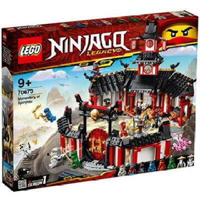 レゴジャパン LEGO レゴ 70670 ニンジャゴー ニンジャ道場