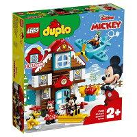レゴジャパン LEGO 10889 デュプロ ミッキーとミニーのホリデーハウス