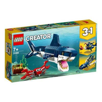 レゴ クリエイター 深海生物 31088 レゴジャパン
