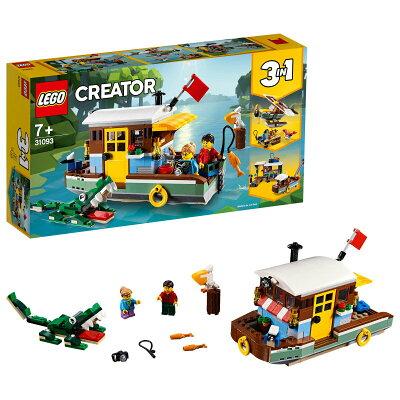 レゴジャパン LEGO レゴ 31093 クリエイター リバーサイド・ハウスボート