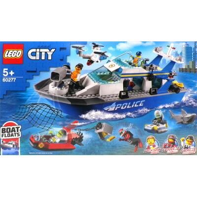 レゴジャパン LEGO シティ 60277 ポリスパトロールボート 60277ポリスパトロ-ルボ-ト
