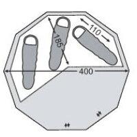 NORDISK Alfheim 12.6 Floor 146012 アルヘイム用フロアシート ノルディスク