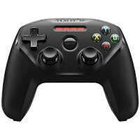 STEELSERIES ワイヤレスゲームパッド Bluetooth Nimbus Wireless Controller ブラック 69070