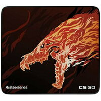 SteelSeries QcK Limited CS : GO Howl Edition ゲーミング マウスパッド # 63403